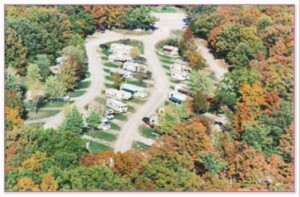 Overview of Osage Beach RV Park