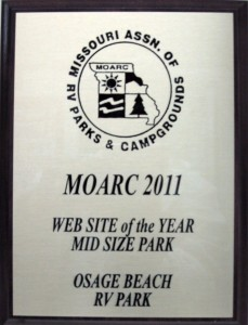 MOARC Best Website Award 2011