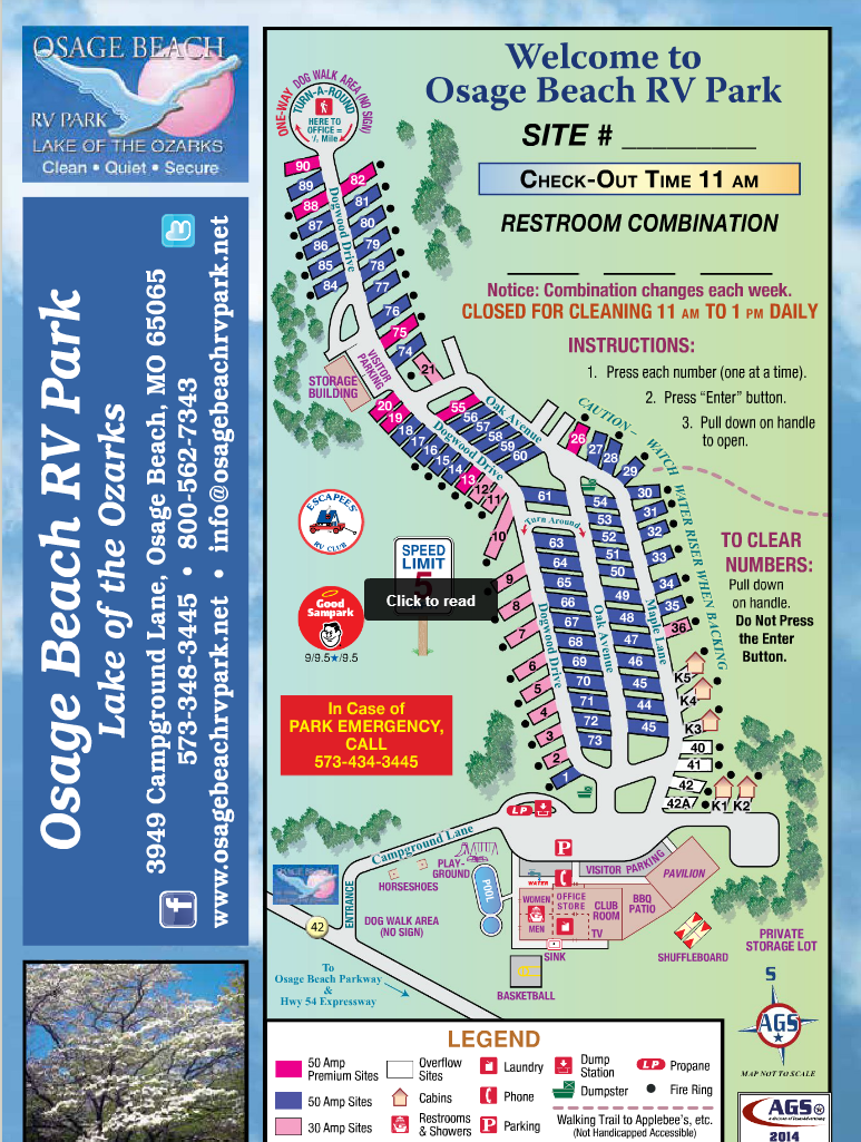 Online Guest Guide For Osage Beach RV Park   Osage Beach RV Park   RV Camping at the Lake of the Ozarks